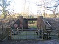 Footpath junction near Spa Valley Railway bridge - geograph.org.uk - 1736869.jpg
