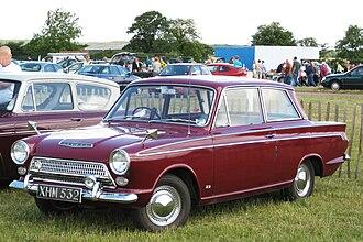 "Ford Cortina - 1963 Ford Consul Cortina Super 2 door saloon (""Mark 1"")"