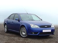A photo of a Ford Mondeo ST220