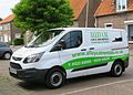 Ford Transit Custom 2198cc diesel registered September 2016 with black cat logo at Aardenburg.jpg