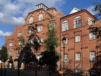 Morland Brewery - Former Morlands brewery building, now apartments
