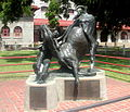 FortWorthTX Stockyards CowboyStatue.jpg