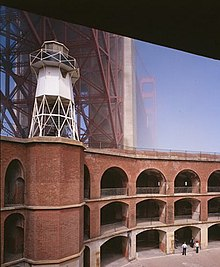 Fort Point Light, U.S. Highway 101, San Francisco (San Francisco County, California).jpg