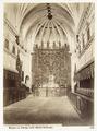 Fotografi av Burgos. La Cartuja, vista interior del templo - Hallwylska museet - 105349.tif