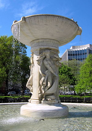 Henry Bacon - Dupont Circle Fountain, Washington, D.C.