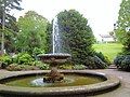 Fountain in the Botanical Gardens. - geograph.org.uk - 836174.jpg