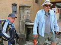 Fr. Julio and Stan at Fontecolombo (3541740819).jpg