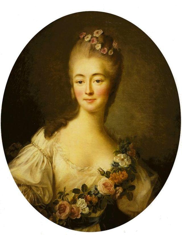 François-Hubert Drouais, Portrait de la comtesse Du Barry en Flore (1769).jpg
