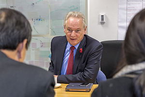 Francis Maude - Maude in the Cabinet Office in 2013