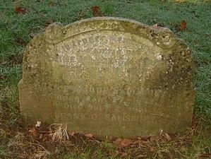 Frank O. Salisbury - Francis Owen Salisbury Headstone, St Nicholas Churchyard, Harpenden.