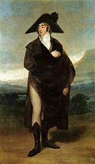 Portrait du comte de Fernán Núñez