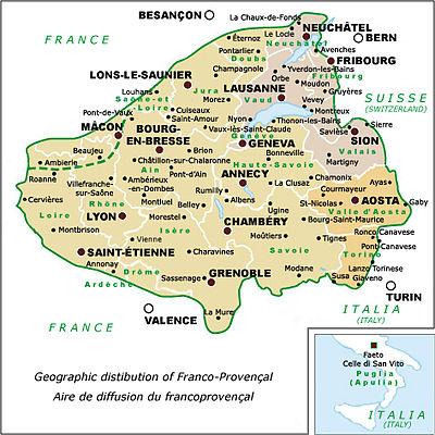 Franco Proven§al language