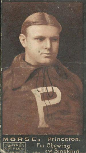 Franklin Morse - Franklin Morse, 1894 Mayo's Cut Plug card