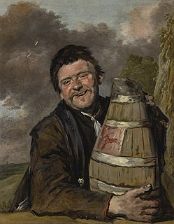 <i>Portrait of a Man with a Beer Jug</i> painting by Frans Hals
