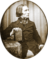 Earliest known photograph of Franz Liszt.