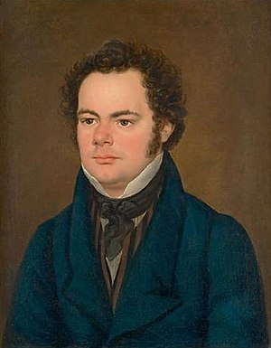 Ave Maria (Schubert) - Portrait of Franz Schubert by Franz Eybl (1827)