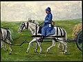 French soldier on horseback (18335396466).jpg