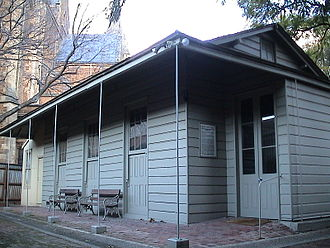 Prefabricated building - Friends Meeting House, North Adelaide, still in service.