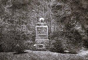 Felix Mottl - Mottl's grave monument