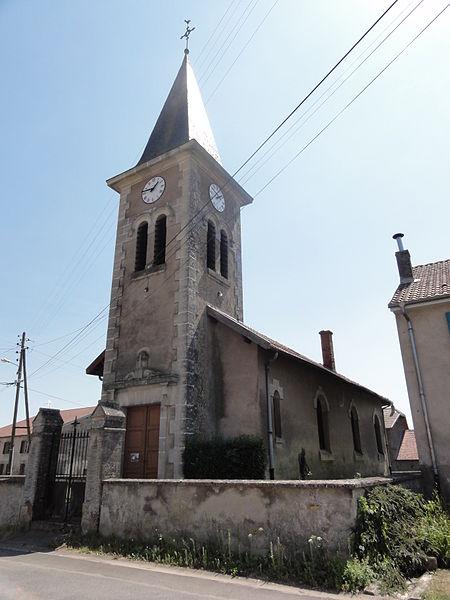 Fromezey (Meuse) église