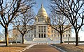 Front view of Rhode Island State House.jpg