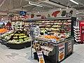 Fruits and vegetables displayed for sale in Spar Supermarket in Tjøme, Norway. Klementiner. 2018-12-16 B.jpg