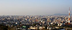Fukuoka Viewed From Minamiku Observation Deck.jpg