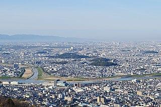 Habikino City in Kansai, Japan