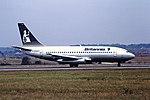 G-BMMZ B737-200 Britannia Luton 26-07-1990 (46828552621).jpg