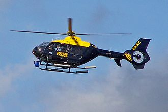 2013 Glasgow helicopter crash - G-SPAO, the EC135 helicopter involved in the crash, photographed in 2010