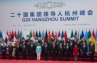 informelles Bündnis der 20 ökonomisch stärksten Länder der Welt