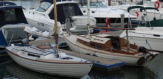 Nordic Folkboat - Image: GRP & Timber Folkboats