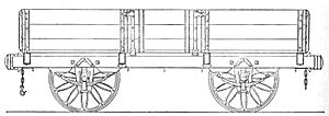 Parliamentary train - Great Western Railway open passenger car