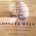 Gabor's Kossuth Prize.jpg