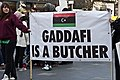 Gaddafi Is a Butcher - Libyan Protest Meeting In Dublin.jpg