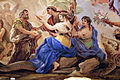 Galleria di luca giordano, 1682-85, antro dell'eternità e nascita dell'uomo 08 parche.JPG