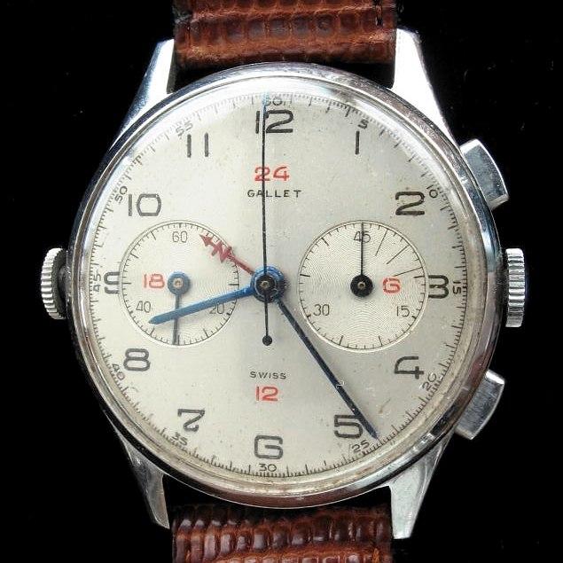 Gallet navigator chronograph