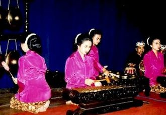 Islamic music - Indonesian Sundanese Gamelan Degung