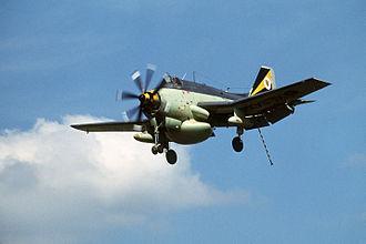 849 Naval Air Squadron - A Gannet AEW.3 of 849 Sqn.