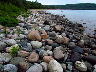 Lake Superior Provincial Park - Image: Gargantua Harbour, Lake Superior PP