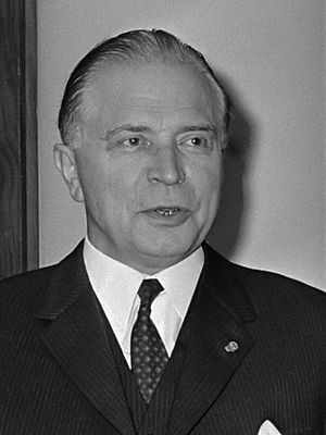 Gaston Eyskens - Eyskens photographed in 1969
