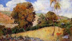 Gauguin 1887 Prairie martiniquaise.jpg