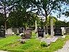 gedeelte begraafplaats.