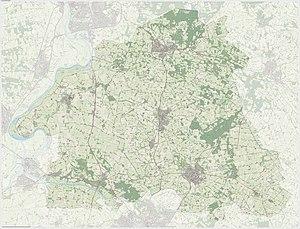 Bronckhorst - Dutch Topographic map of Bronckhorst, June 2015