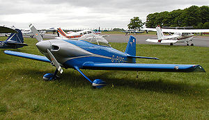 General aviation - A general aviation scene at Kemble Airfield, England