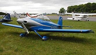 Van's Aircraft RV-4 - Van's Aircraft RV-4 at Kemble Airfield, England.