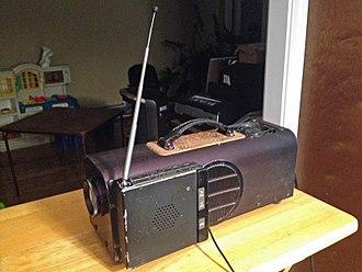 LCD projector - Gene Dolgoff's original LCD Projector prototype.