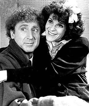 Gilda Radner - Radner with her husband, Gene Wilder, in the film Haunted Honeymoon, 1986
