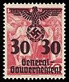 Generalgouvernement 1940 23 Aufdruck auf 336.jpg