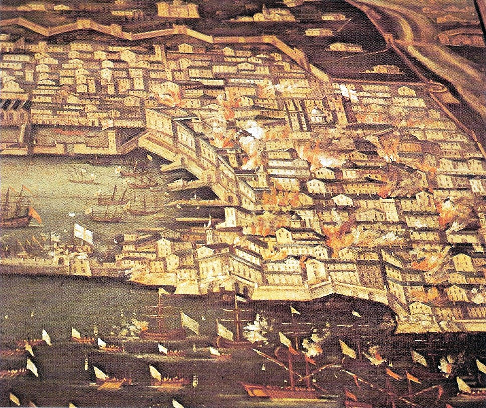 Genova-bombardamento francese (1684)